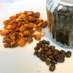 コーヒー燻製ナッツ